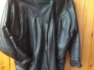 Куплю куртку кожаную 90 х. Ярмарка Мастеров - ручная работа, handmade.