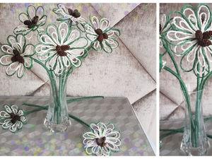 Делаем цветочки для декора из джута. Ярмарка Мастеров - ручная работа, handmade.
