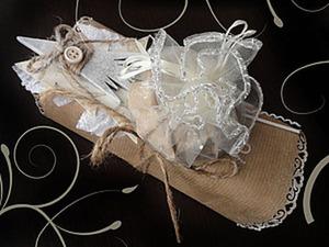 Экспресс-упаковка новогоднего подарка — легко, просто и симпатично. Ярмарка Мастеров - ручная работа, handmade.