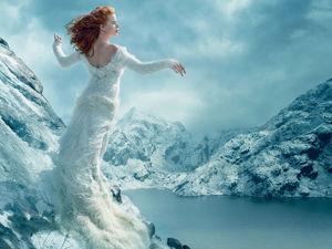 Стиль Снежной королевы — ледяная красота!. Ярмарка Мастеров - ручная работа, handmade.