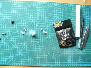 Создаем серьги из серебра Art Clay. Ярмарка Мастеров - ручная работа, handmade.