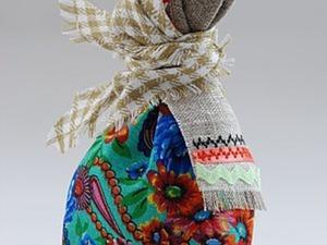 Тряпичная кукла «Каркуша». Ярмарка Мастеров - ручная работа, handmade.