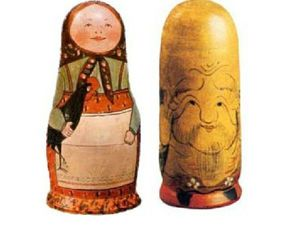 Японские корни русской матрешки. Ярмарка Мастеров - ручная работа, handmade.