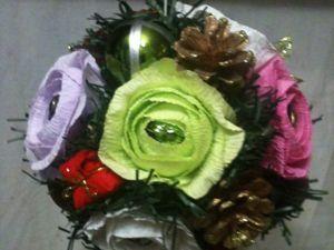 Создаем ёлочный шар из конфет. Ярмарка Мастеров - ручная работа, handmade.