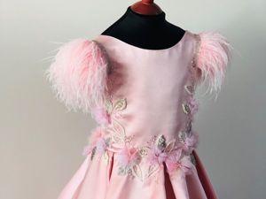 Новый онлайн курс по вышивке Высокой Моды Фламинго. Ярмарка Мастеров - ручная работа, handmade.