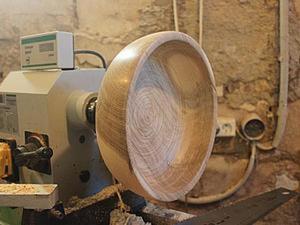 Процесс изготовления дубовой миски. Ярмарка Мастеров - ручная работа, handmade.