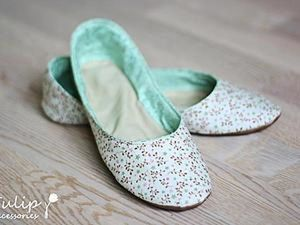 Sew Cute Slippers for Home with Your Own Hands. Livemaster - handmade