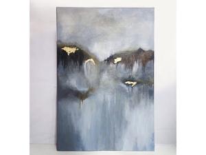 Картина  «Золотая буря». Ярмарка Мастеров - ручная работа, handmade.