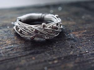 Проволочные кольца — тренд этого года. Ярмарка Мастеров - ручная работа, handmade.
