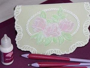 Создание открытки в технике парчмент-крафт. Ярмарка Мастеров - ручная работа, handmade.