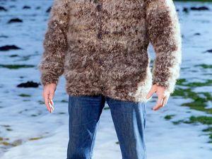 Внимание! Февральская зимняя  АКЦИЯ!!! Плед  из собачьей  шерсти со скидкой   60%!. Ярмарка Мастеров - ручная работа, handmade.