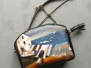 Кожаные сумочки,. Ярмарка Мастеров - ручная работа, handmade.