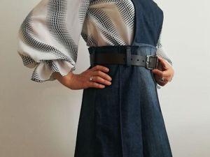 Шьем сарафан трансформер из брюк. Ярмарка Мастеров - ручная работа, handmade.