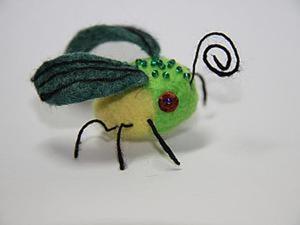 Валяние фэнтезийного насекомого. Ярмарка Мастеров - ручная работа, handmade.