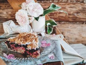 Рецепт пирога с жимолостью. Ярмарка Мастеров - ручная работа, handmade.