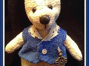 Как сделать маленького мишку Тедди. Часть 1. Ярмарка Мастеров - ручная работа, handmade.