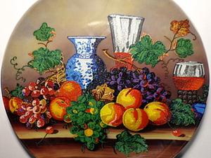 Обновление тарелки: мастер-класс. Ярмарка Мастеров - ручная работа, handmade.