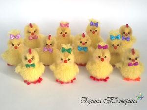 «Пушистые комочки»: вяжем крючком милых цыплят. Ярмарка Мастеров - ручная работа, handmade.