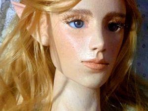 Эльф. Шарнирная кукла. Ярмарка Мастеров - ручная работа, handmade.