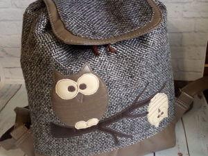 Как рождается рюкзак. Ярмарка Мастеров - ручная работа, handmade.
