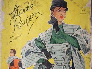 Mode- Reigen — старый  журнал мод -50e годы- Редкость. Ярмарка Мастеров - ручная работа, handmade.