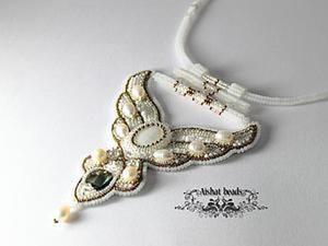 """Мастер-класс по изготовлению кулона-колье """"Vogue"""". Часть 2: Завершение. Ярмарка Мастеров - ручная работа, handmade."""