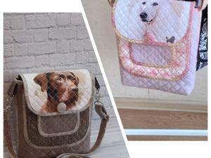 Сумочки с Собаками :). Ярмарка Мастеров - ручная работа, handmade.