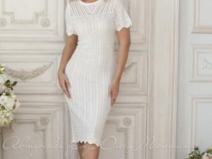Аукцион на Очаровательное ажурное платье! Старт 2500 руб.!. Ярмарка Мастеров - ручная работа, handmade.
