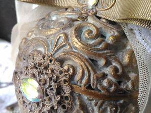 Новогодний шар  «Ажур». Ярмарка Мастеров - ручная работа, handmade.