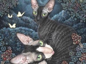 Night Clover. Ярмарка Мастеров - ручная работа, handmade.