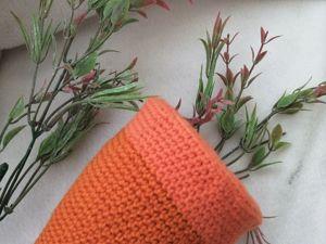 Вяжем основу морковки. Ярмарка Мастеров - ручная работа, handmade.