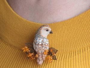 Хотите научиться шить броши-птички? Тогда читайте этот пост;). Ярмарка Мастеров - ручная работа, handmade.