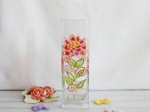 New Ваза:  «Аленький цветочек». Ярмарка Мастеров - ручная работа, handmade.