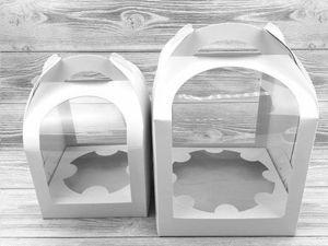 Видео-обзор коробочки для кулича. Ярмарка Мастеров - ручная работа, handmade.