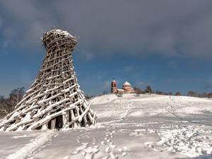 Зима в Никола- Ленивце. Ярмарка Мастеров - ручная работа, handmade.