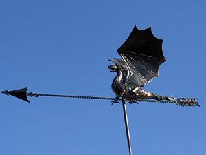 Флюгер дракон. Ярмарка Мастеров - ручная работа, handmade.