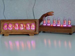 Ламповые часы сравнение по внешнему виду. Ярмарка Мастеров - ручная работа, handmade.