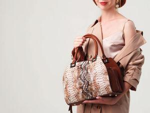 Сумка  «Линда»  обзор сумки на модели. Ярмарка Мастеров - ручная работа, handmade.