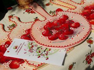 Праздник со вкусом вишни. Ярмарка Мастеров - ручная работа, handmade.