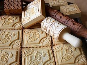 Рецепты теста для пряничных скалок, прессов и досок. Ярмарка Мастеров - ручная работа, handmade.