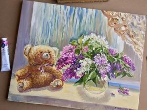 Весна! Картины цветов и пейзажи. Ярмарка Мастеров - ручная работа, handmade.