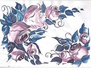 Видео мастер-класс: рисуем розы темперой. Ярмарка Мастеров - ручная работа, handmade.