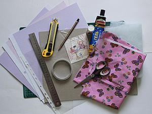 Создаем папку для свидетельства о рождении или заключения брака. Ярмарка Мастеров - ручная работа, handmade.