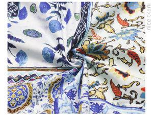Видеообзор легкого хлопка от Dolce and Gabbana. Ярмарка Мастеров - ручная работа, handmade.