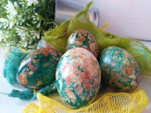Как покрасить яйца под мрамор. Скоро Пасха!. Ярмарка Мастеров - ручная работа, handmade.