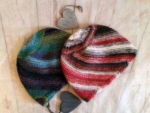 Вяжем шапку «Диагональ» своими руками. Ярмарка Мастеров - ручная работа, handmade.
