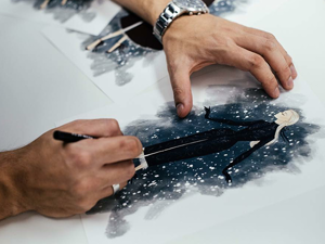 Щелкунчик и Высокая мода: Paolo Sebastian 2018–19 AW Couture. Ярмарка Мастеров - ручная работа, handmade.