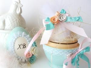 Пасхальный подарок в виде декоративного яйца. Ярмарка Мастеров - ручная работа, handmade.