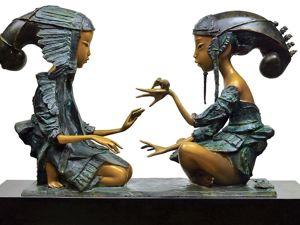 Скульптор Андрей Осташов и его бронзовые сказки. Ярмарка Мастеров - ручная работа, handmade.