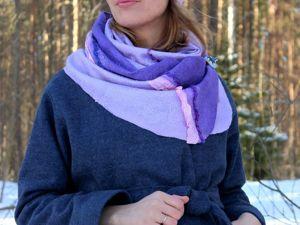 Скидки 30% на готовые шарфы и бактусы!. Ярмарка Мастеров - ручная работа, handmade.